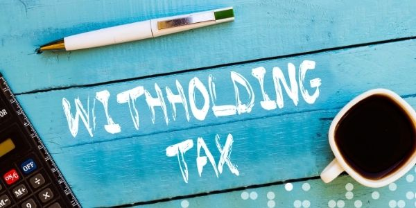 Non-resident Tax Withholdings